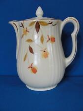 Jewel Tea Autumn Leaf Hall China 9 Cup Rayed Coffee Pot