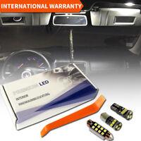 VW Golf 4 MK IV LED Interior Premium Set 11 SMD Bulbs White Error Free GT GTI 1J