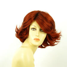 short wig for women copper intense ref: FLORE 350 PERUK