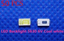 50pcs LED TV screen repair Cold White Lamp Beads 0.6W 6V 5630 SAMSUNG SPBWH1531