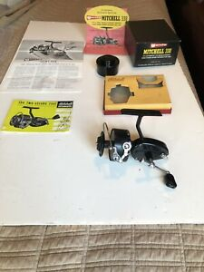 Vintage Garcia Mitchell 330 New In Box spinning fishing reel