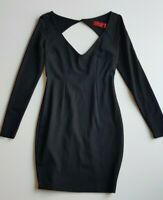 TIGERLILY Black Stretch Knit Dress Size 8