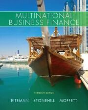 Multinational Business Finance (US HARDCOVER 13th Edition)