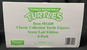 TMNT Retro Rotocast Sewer Lair Action Figure 6 Piece Set PX Pre Order 7/28