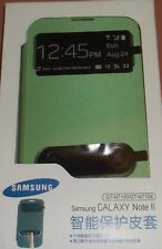 Samsung Flip Cover case for Galaxy Note II, GT-N7100, GT-N7108, Lime Green