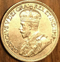 1934 CANADA SILVER 10 CENTS COIN - Excellent example!