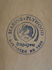 """Meranti BS1088 Marine Grade Plywood 14""""x9""""x9mm"""