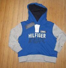 NWT Tommy Hilfiger Boys Hooded sweathsirt~Blue~ Sz 5