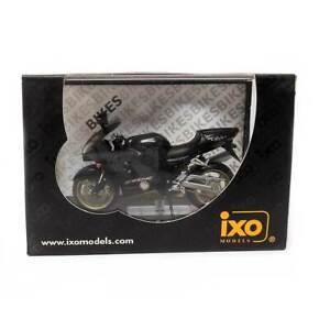 IXO Models Mini Motorcycles: 2002 Kawasaki ZX-12R (Black) 1/24 Scale