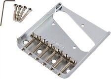 Fender® 6-Saddle Vintage-Syle Telecaster® Bridge Assembly, Chrome