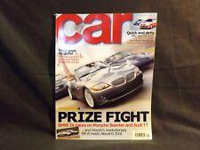 CAR MAGAZINE ISSUE 487 MARCH 2003. MAZDA RX8. NISSAN 350Z. BMW Z4. VEYRON.