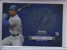 ANTHONY GOSE 2012 BOWMAN STERLING AUTO
