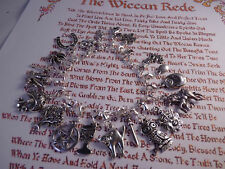 Willow's (Buffy) 925 Silver Wiccan Charm Bracelet