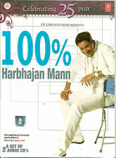 100% HARBHAJAN MANN - NEW BOLLYWOOD SONGS 2 CDs SET - FREE UK POST
