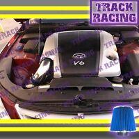 BLACK RED AIR INTAKE INDUCTION KIT FOR 2009-2011 HYUNDAI GENESIS 3.8L V6 4DR