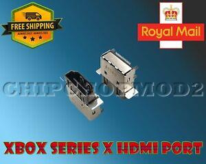 XBOX SERIES X HDMI PORT NEW ORIGINAL REPLACEMENT ***GENUINE UK STOCK***