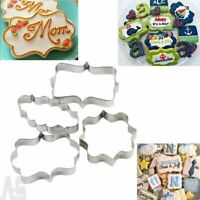 Cake DIY Biscuit Plaque Stainless Steel Pastry Mould Cookie Mold Fondant Cutter