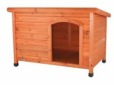 Trixie Pet Products Dog Club House in Pine, Suitable for Large Breed Dogs, New