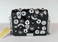 Michael Kors Sloan Editor Brown/black Leather LG Shoulder Bag