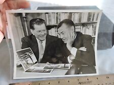 ORIG 1978 Gene Tunney Jack Dempsey in 1969 Boxing Fighter 7x9 Photo