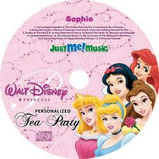 Disney Princess Tea Party Personalised CD