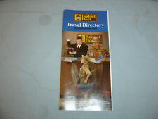 2004 Hotel Directory For Budget Host