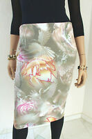 MARCCAIN Damen Rock Seidenmischung N2 N3 36 38 S Pastellfarben
