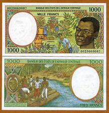 Central African States, Congo, 1000 francs, 2000, P-102Cg, UNC