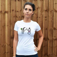 Gin & Tonic Lovers Women's T-Shirt. Fashion Top, Funny, Humour, Gorgeous, G&T