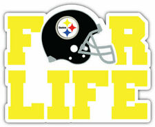 """Pittsburgh Steelers FOR LIFE 4"""" x 4.1/2"""" Magnet"""