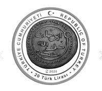 TURKEY 2021 (SILVER COIN) - OTTOMAN SULTANS SERIES -2- ORHAN GAZI, LIMITED, RARE