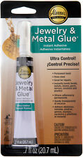 Aleene's JEWELRY & METAL GLUE CLEAR Instant Adhesive ULTRA CONTROL WATER PROOF