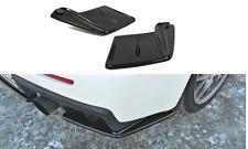 Cup Diffusor ansatz carbon Mitsubishi Lancer Evo X Heck hinten Side Splitter