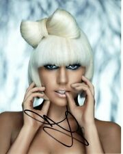 LADY GAGA Signed Autographed Photograph