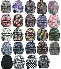 Fashion Mini Backpack Flower Floral Camo Black Handbag Bag Girl Cactus Paisley