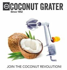 Odiris Coconut grater A8 - Coconut scraper with stainless steel blades