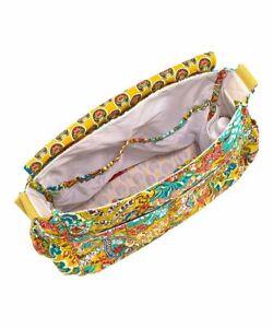 Vera Bradley Provencal Messenger Baby Diaper Bag   Yellow Floral
