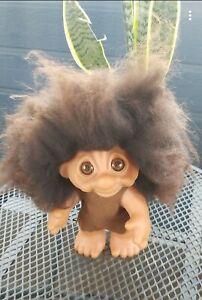 Vintage Thomas Dam Troll Doll rare Iris Eye