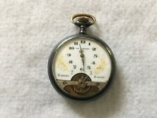 The Comfort 8 Day Vintage French Mechanical Wind Up Pocket Watch