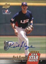 2009 Upper Deck Sign Stars USA Star Prospects Signatures #USA30 Rick Hague Auto