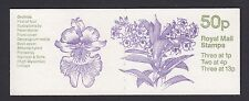Fb27 Sept 1984 Orchids (1st of 4) 50p Folded Booklet Cyl B27 B7 B8 - good perfs