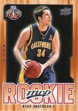 RYAN ANDERSON 2008-09 UPPER DECK MVP ROOKIE CARD #220