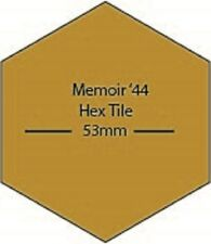 Memoir 44 Board Game DIY Hex MDF Wood Tiles Laser Cut FAST SHIPPING US SELLER