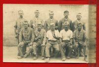 Foto AK 1.WK, Militär, deutsche Kriegsgefangene in Frankreich, 1915 ( 60845