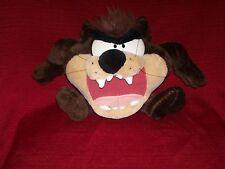Taz Plush Looney Tunes 1997 Tasmanian Devil Play by Play CLEAN