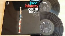 JAZZ-HISTORY - COUNT BASIE - VOL.4 - 2 LP 33 GIRI GATEFOLD - ITALY PRESS