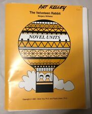Novel Unit Study The Velveteen Rabbit Williams Margery Book Worksheets Education