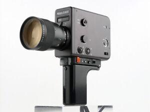 BLACK Braun Nizo S 800 film cine MOVIE camera Super 8 mm Lap Dissolve Time Lapse