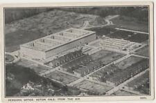 Pensions Office Acton Vale, From The Air, London Airco Postcard B815