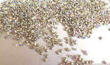144 Swarovski 1088 12ss 3mm AB Crystal Aurore Boreale Chaton Rhinestones Foiled